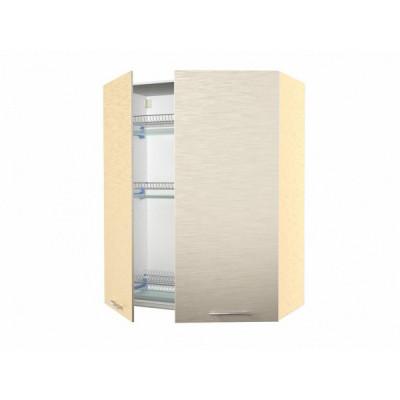 шкаф навесной кухонный с сушкой 60 белый мрамор