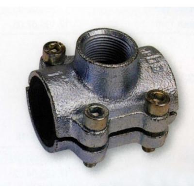 Обойма (врезка) ANB c отводом и внутр.резьбой 1 1/2*3/4 GEBO (31505)