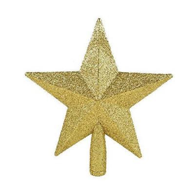 Макушка Т006 Звезда 20см золот, блестки
