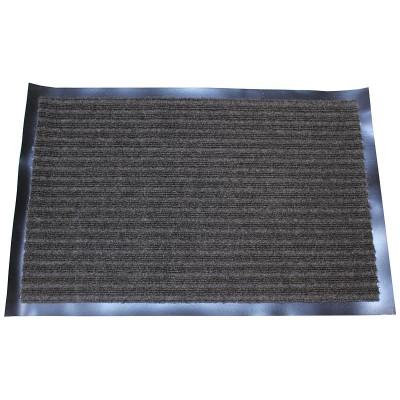 """Коврик влаговпитывающий на резиновой основе """"Черри"""" (400х600мм) серый"""