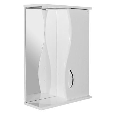 Шкаф навесной МУССОН-50 правый без подсветки (ПВХ)