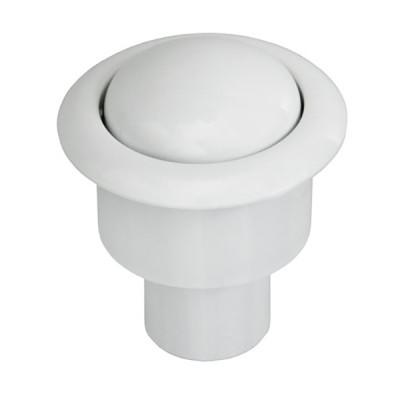 Кнопка нажимная И-СБ1-Б-КМ белая