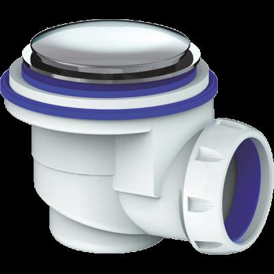 Сифон для душ. поддона 65*40 Click-Clack без отвода G422E UNICORN
