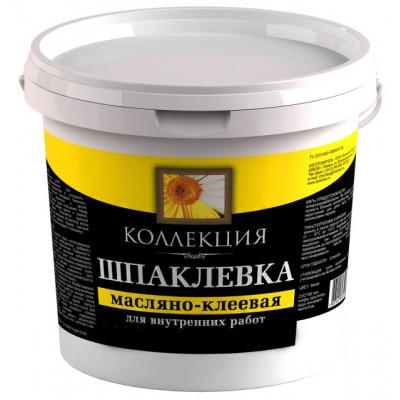Шпатлевка маслено-клеевая КОЛЛЕКЦИЯ 1,5 кг ведро