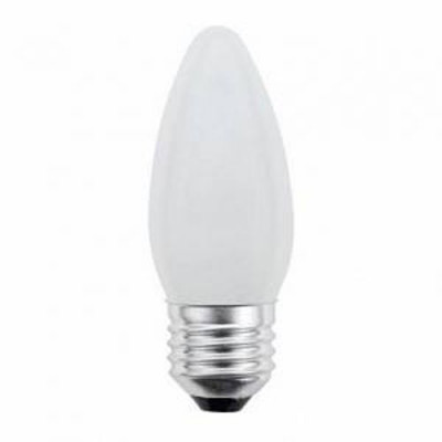 Лампа 40Вт Е27/FR Uniel свеча мат.