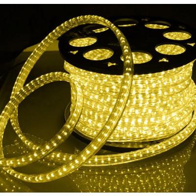 Дюралайт светодиод. LED-F3WRL, желтый( плоский)