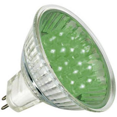 Лампа LED 2 W 230V зеленый Feron