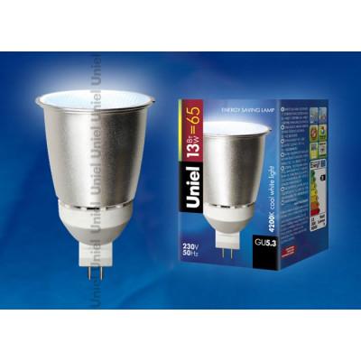 Лампа энергосбер. 13 Вт/4200 GU 5.3 МR16 Uniel ст. м.