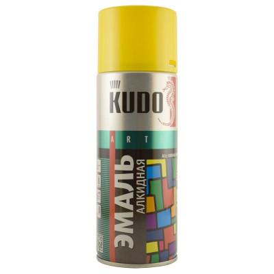 Аэрозольная эмаль универсальная желтая KU-1013