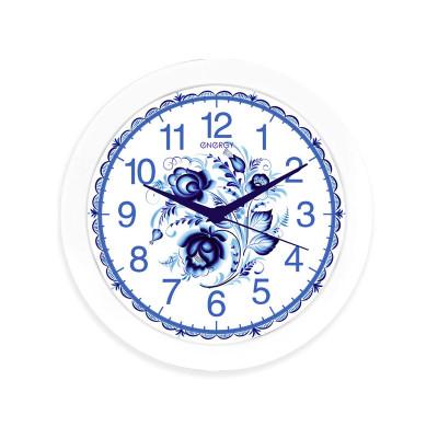 Часы настенные Energy EC-102 Гжель (круглые) 9475