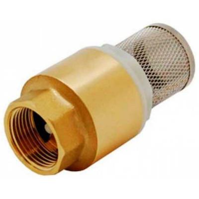 Обратный клапан 3/4 с фильтром Vertum
