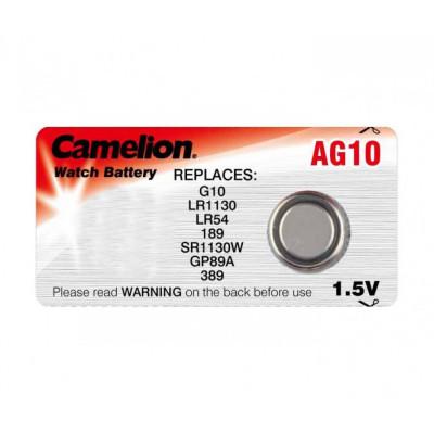 Элемент питания Camelion AG10 (389)