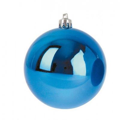 Шар Т174-4 8см (глянцевые) синий