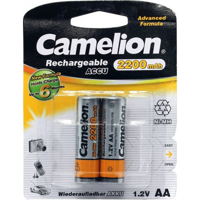 Акк. Camelion R6 2200мАч BL2