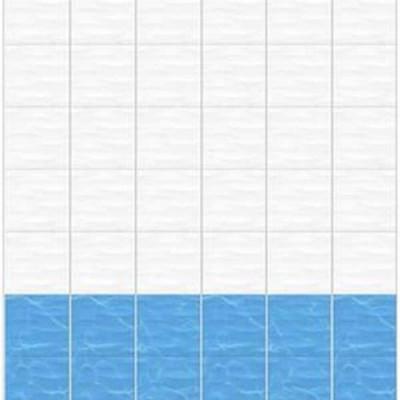 Панель ПВХ Дельфины фон