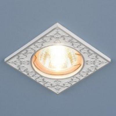 Св. глн. Электростандарт 120071 MR16 WH/SL белый/серебро