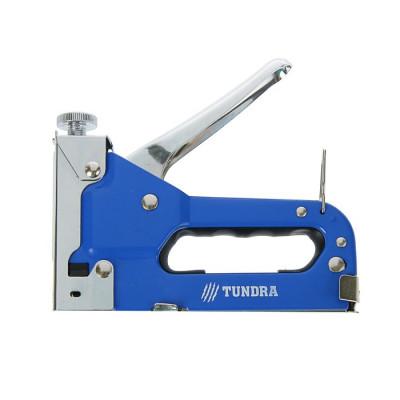 Степлер строительный метал.корпус скоб 4-14 мм TUNDRA 140тип 1300845