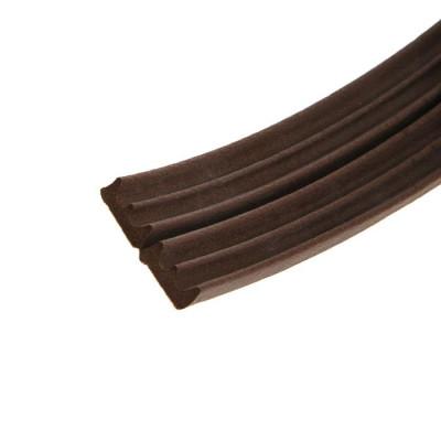 """Уплотнитель универс. """"KIM TEC"""" E - профиль,коричневый,150 м"""