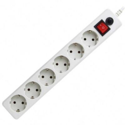 Сетевой фильтр Гарнизон ПВС 3*0,75 6 гн 5м