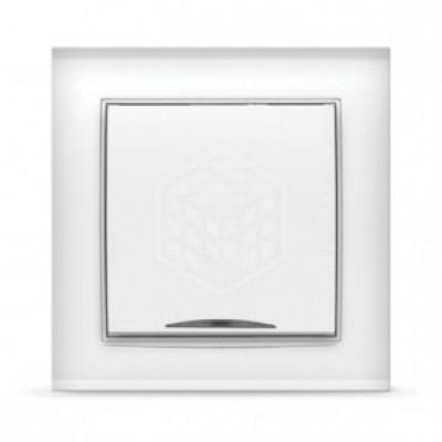 Выключатель 1кл. с подсв. бел. Бриллиант СП, 10А, 220В (7947397)