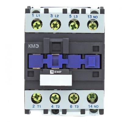 Контактор малогабаритный КМЭ 25А 400В 1NO EKF Basic