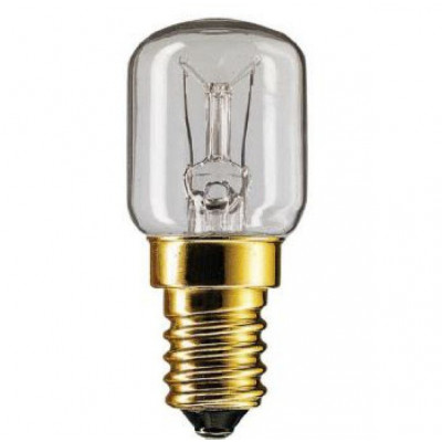 Лампа 15 Вт для печей Е*14 t 300 градусов
