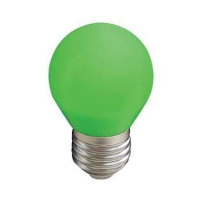 Лампа Ecola св/д шар G45 E27 5W Зеленый матов