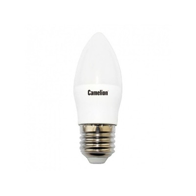 Лампа Camelion Bright C35 LED7 W E27 4500K свеча
