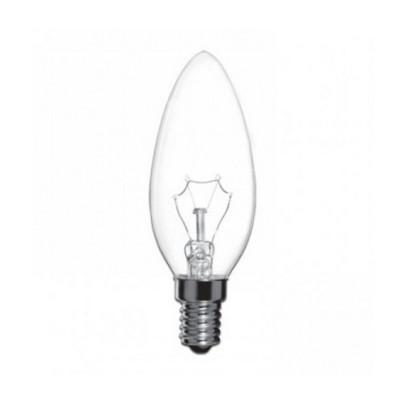 Лампа СТАРТ ДС 60Вт Е14 свеча прозр
