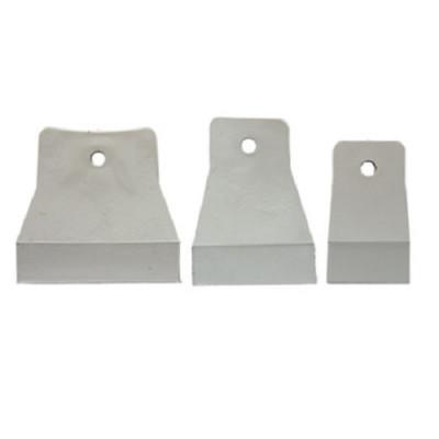 Набор шпателей 40-60-80 мм, белая резина, 3 шт. СИБРТЕХ