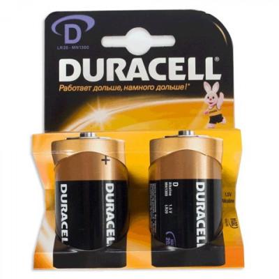 Элемент питания Duracell LR20 2/20/60