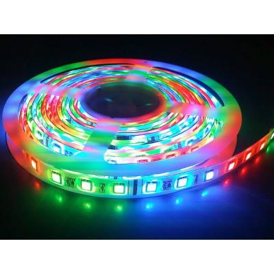 СД лента RGB (SMD5050. LT30) IP65 12V 7.2W/м Camelion