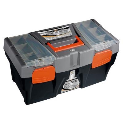 """Ящик для инструмента 24"""" 590 х 300 х 300 мм пластик STELS"""