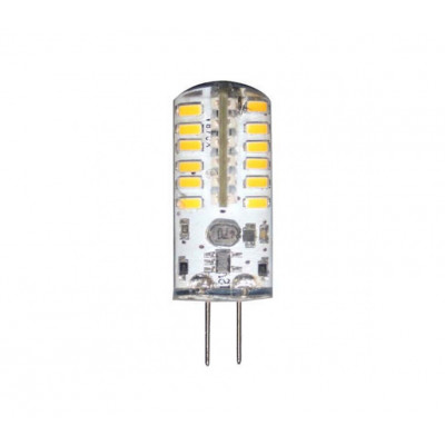 Лампа светодиодная 7W G4 24 LED 230V 4000K LB-420 силикон Feron