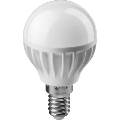 Лампа LED 8W Е14 220В 6500 шар ОНЛАЙТ