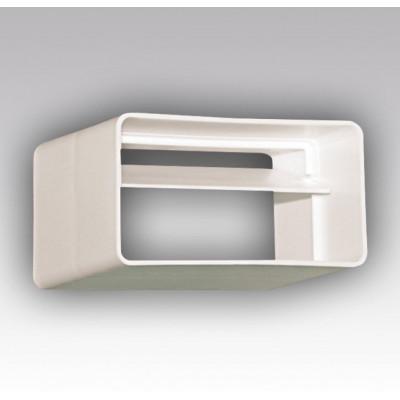 Соединитель 60х120 с обратным клапаном ПВХ