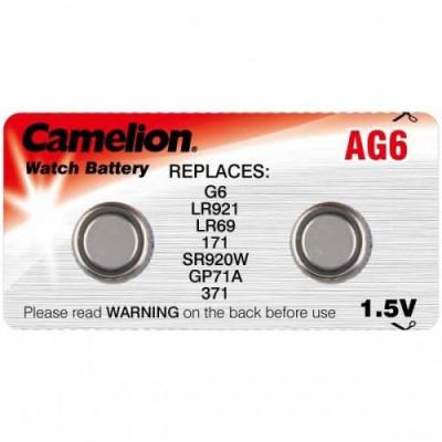 Элемент питания Camelion AG06 (371)