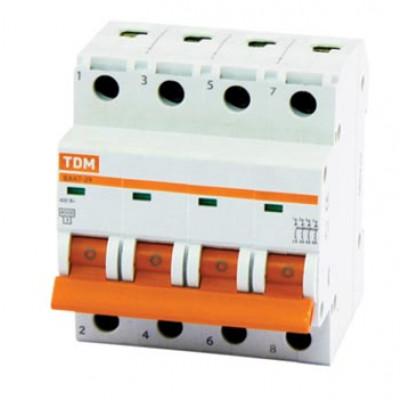 Автомат TDM 25А 4-п.