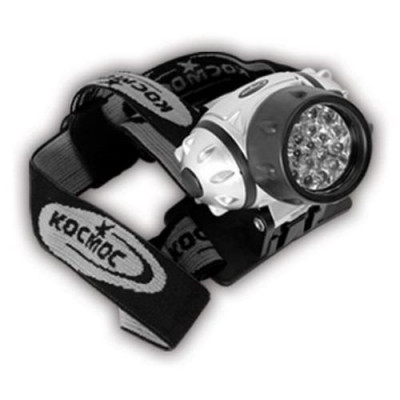 Фонарь Космос Н14 LED, налоб. 14 LED, 3хААА КОС-Н14-LED