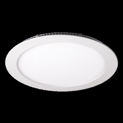 Светильник LED JazzWay встраив. PPL-RPW 9Вт 6500К d 145x25мм IP20 кругл, бел. 4897062855039