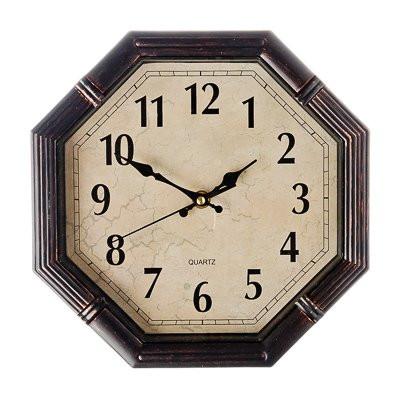 "Часы настенные ""Многогранник"" 25x25см, пластик, 1хАА"