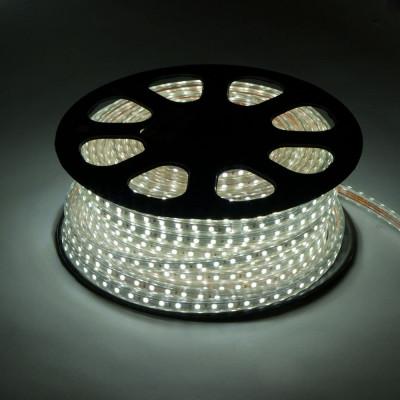Лента светодиодная 220V 7,2W 30Led 5050 IP65 белый
