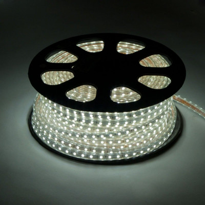 Светодиод. лента MVS-3528/60-IP67-220V-W белый 4.8w/m 300Lm Включай