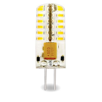 Лампа Led 4W G4 12V 6000К 330Лм AC/DC силикон (LED OPTI G4-4.0 W-WW SL) OPTI Включай