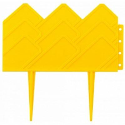 """Бордюр """"Готика"""" 14х310см. желтый"""