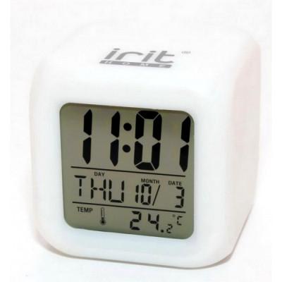 Часы-календарь IR-600 подсветка, термометр