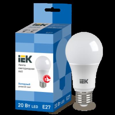 Лампа ЕСО А60 шар 20 ВТ 6500К Е27 (