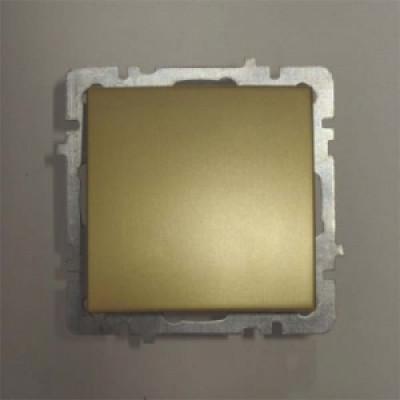 Выкл. золото с/п 1 кл. механизм NILSON TOURAN (Thema)