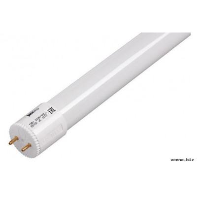 Лампа светодиодная 18W G13 LEDT8 6500К 1600ЛМ 220V L=1200mm  (VLL-T8-18-G13-6500 ECO) VKLel