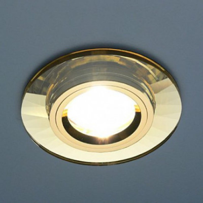 Св. глн. Электростандарт 8160/2 YL/GD зеркал. золото